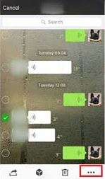 How to forward a voice message on WeChat | How to do It